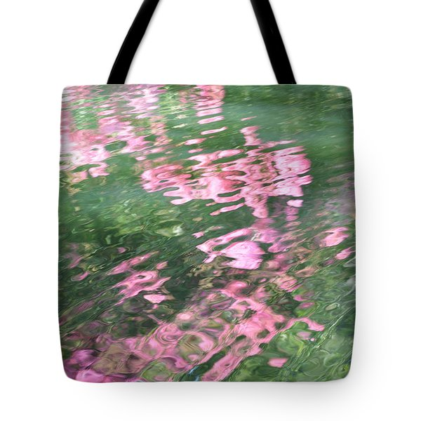 Rosey Ripples Tote Bag