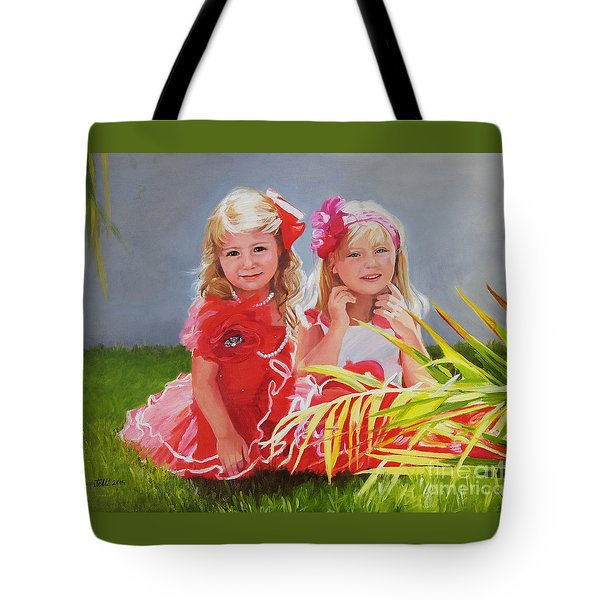 Rosie And Jaz Tote Bag