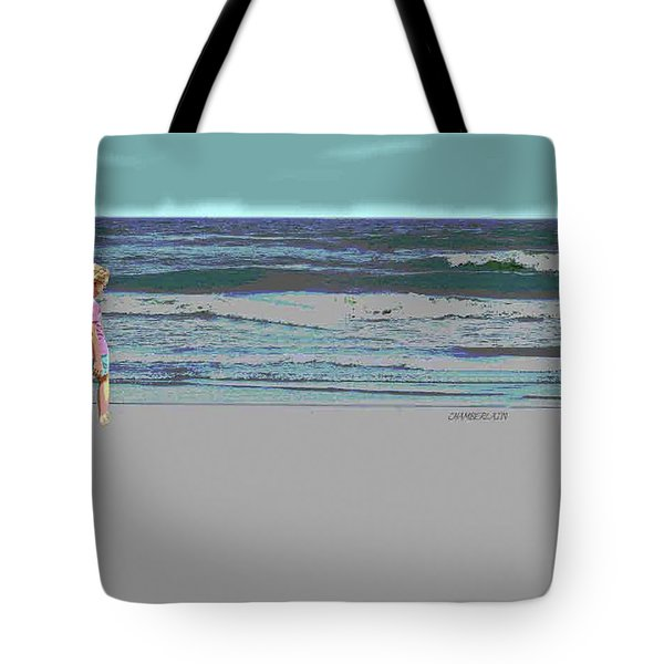 Rosie On The Beach Tote Bag