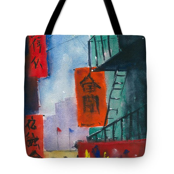 Ross Alley, Chinatown Tote Bag