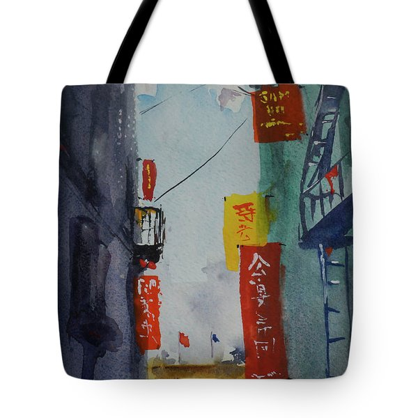 Ross Alley6 Tote Bag