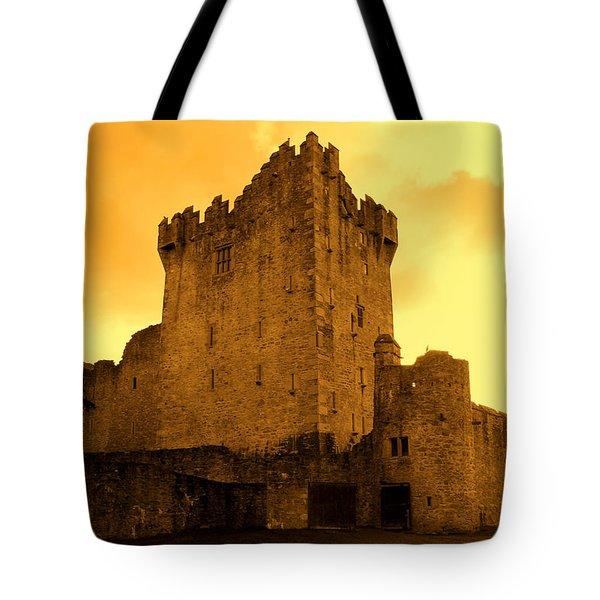 Ross Castle Tote Bag by Aidan Moran