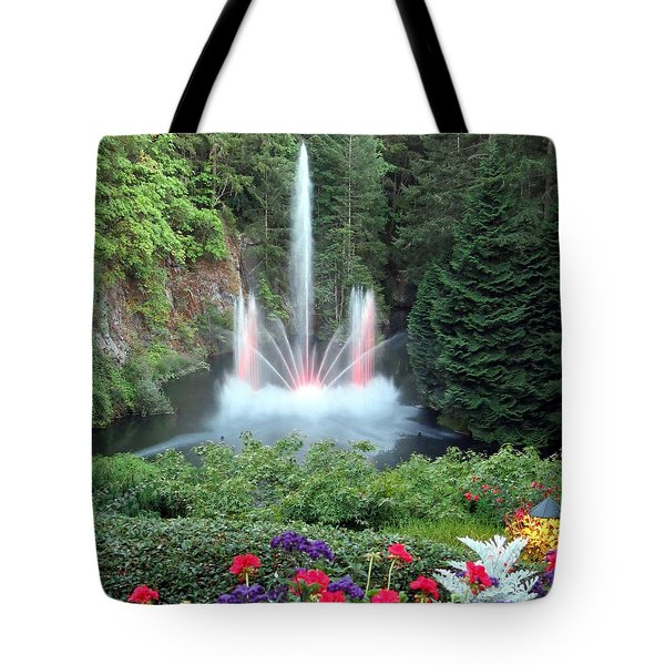 Ross Fountain Tote Bag