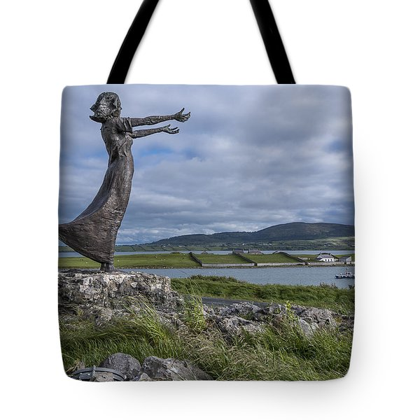 Rosses Point Sligo Tote Bag by Martina Fagan