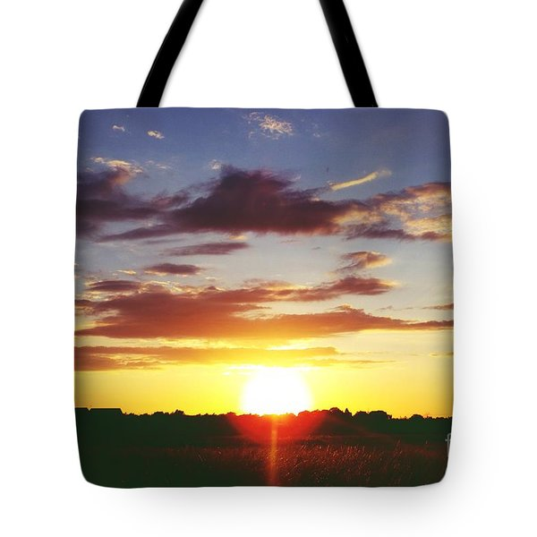 Rossington Sunset 2 Tote Bag