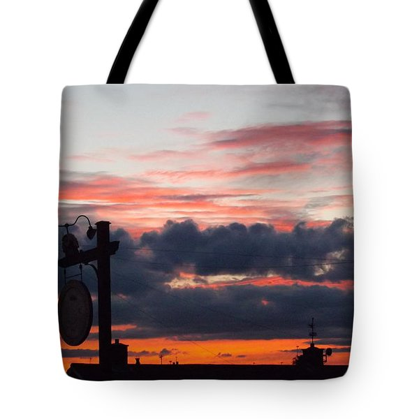 Rossington Sunset Tote Bag