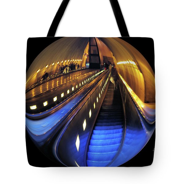 Rosslyn Metro Station Tote Bag