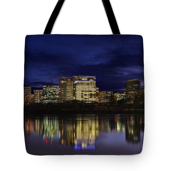 Rosslyn Skyline Tote Bag