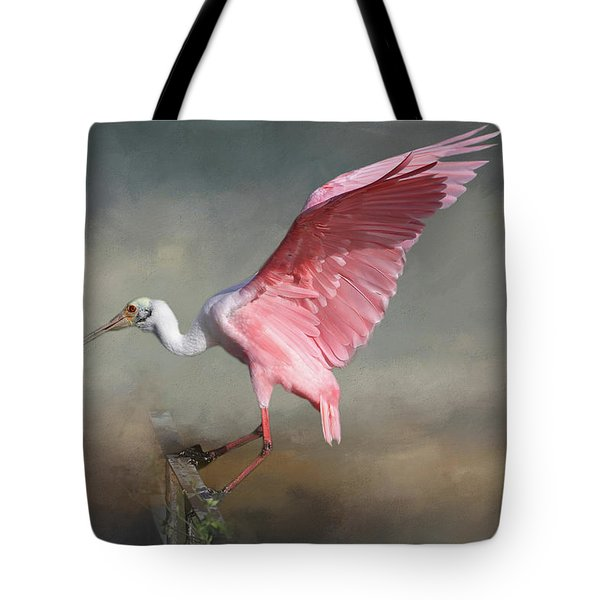 Tote Bag featuring the photograph Rosy by Donna Kennedy