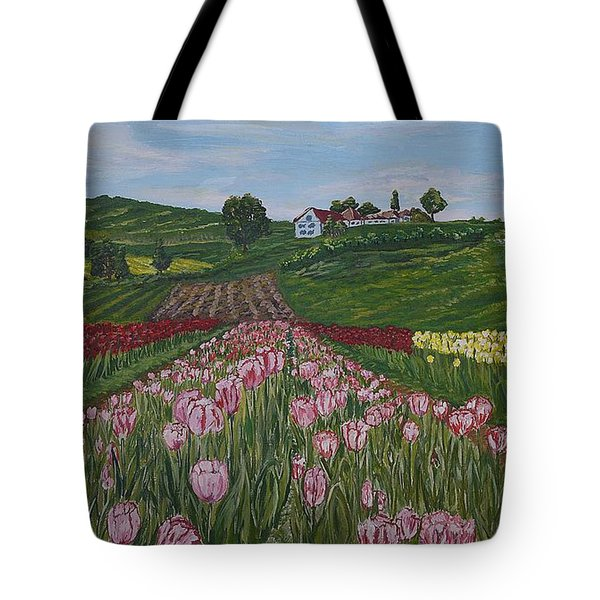 Walking In Paradise Tote Bag by Felicia Tica