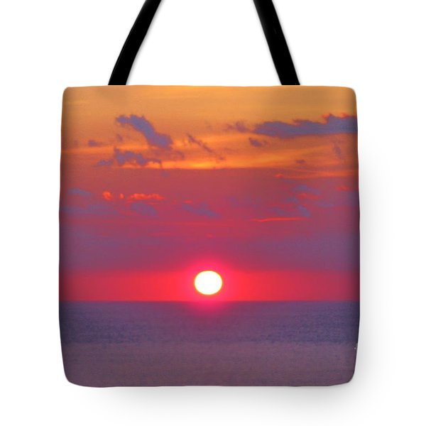 Rosy Sunrise Tote Bag