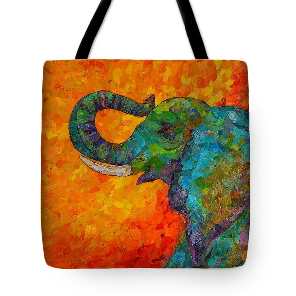 Rosy The Elephant Tote Bag