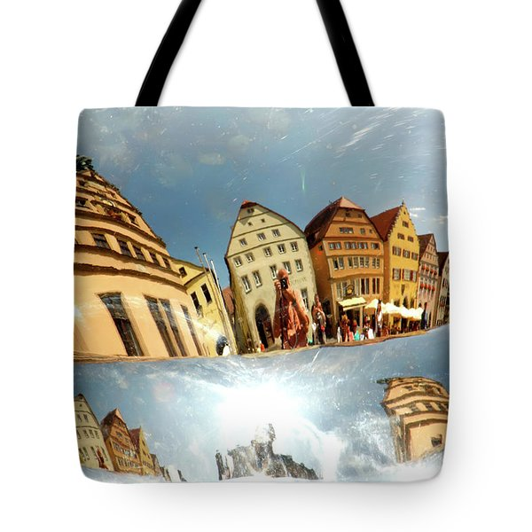 Tote Bag featuring the photograph Rotenburg In A Tuba by KG Thienemann
