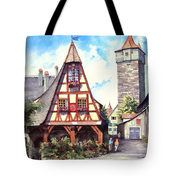 Rothenburg Memories Tote Bag