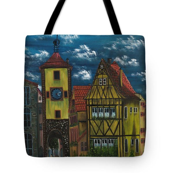 Rothenburg Ob Der Tauber Tote Bag by The GYPSY And DEBBIE