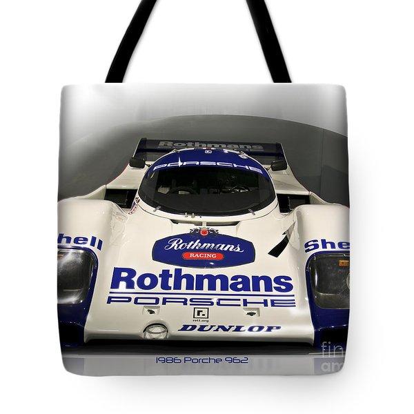 Rothmans Porche Tote Bag