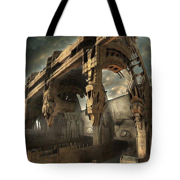 Rotted Bridge Tote Bag