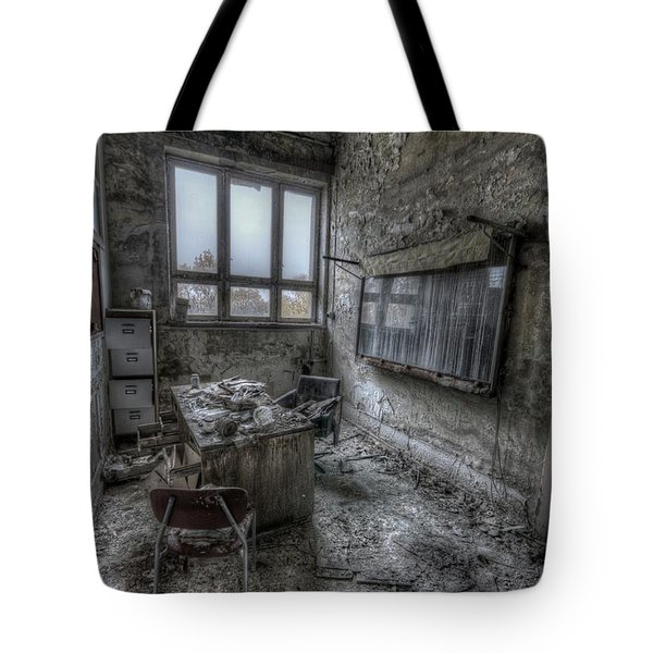 Rotten Office Tote Bag by Nathan Wright