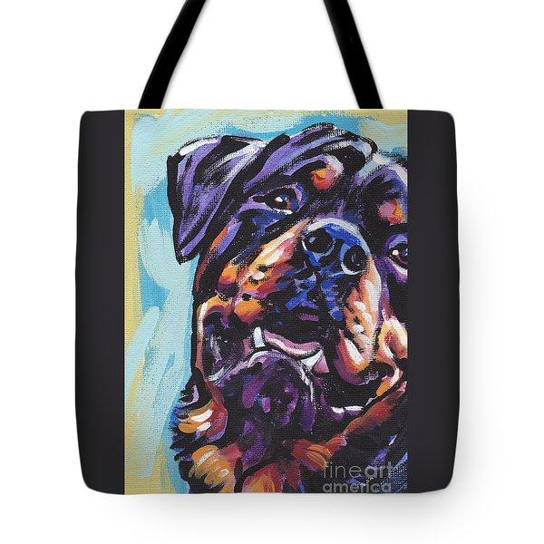 Rottie Power Tote Bag