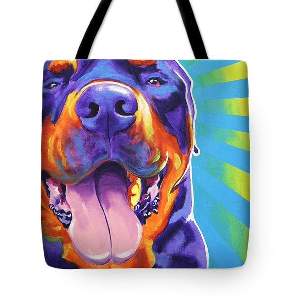 Rottweiler - Duncan Tote Bag