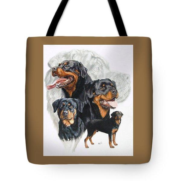 Rottweiler Medley Tote Bag