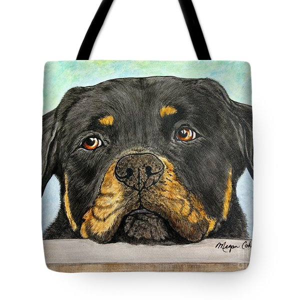 Rottweiler's Sweet Face 2 Tote Bag