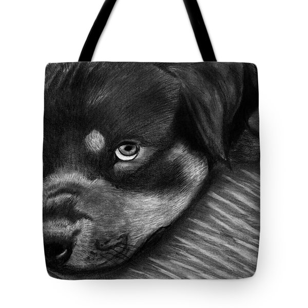 Rotty Tote Bag by Peter Piatt