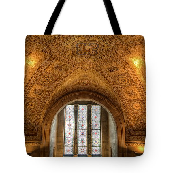 Rotunda Ceiling Royal Ontario Museum Tote Bag