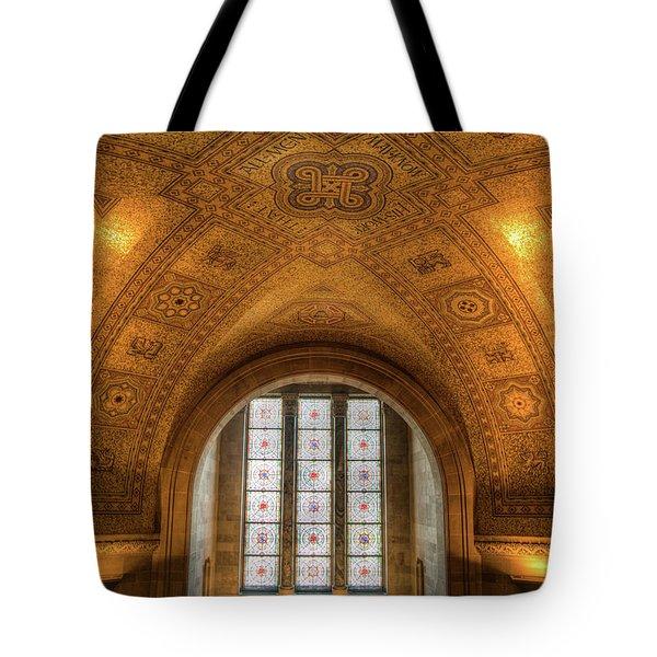 Rotunda Ceiling Royal Ontario Museum Tote Bag