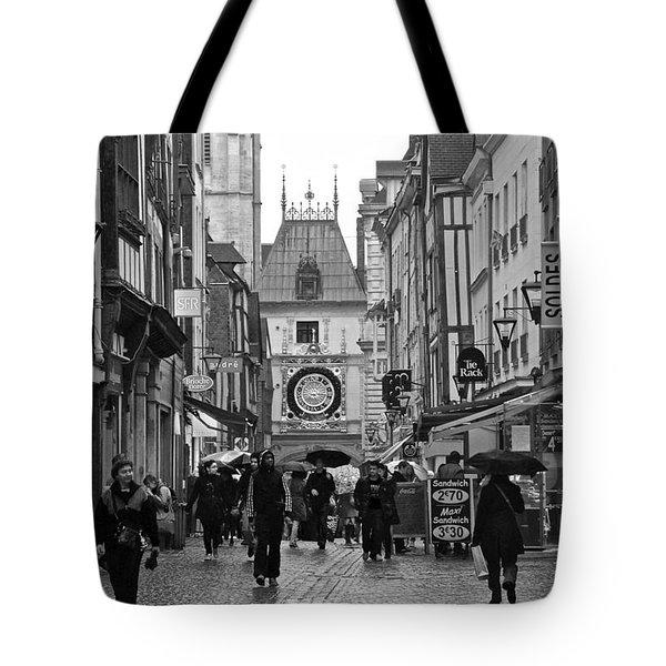 Rouen Street Tote Bag by Eric Tressler