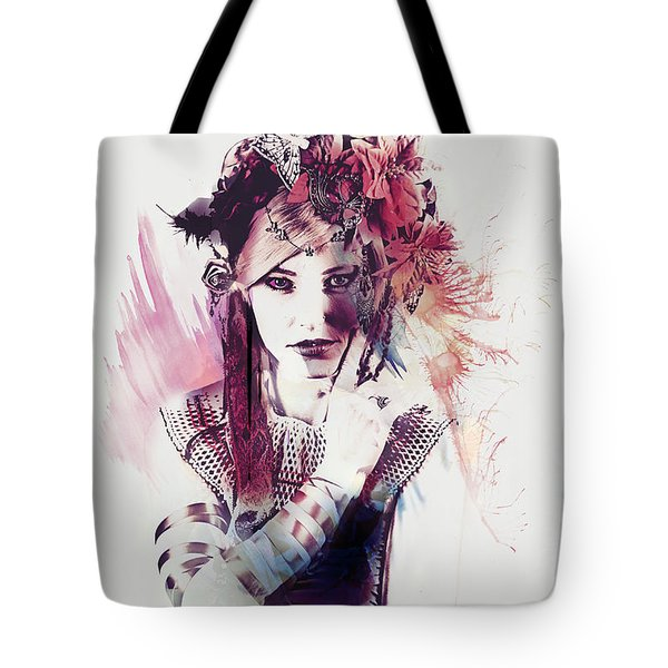 Rouge Tote Bag by Galen Valle