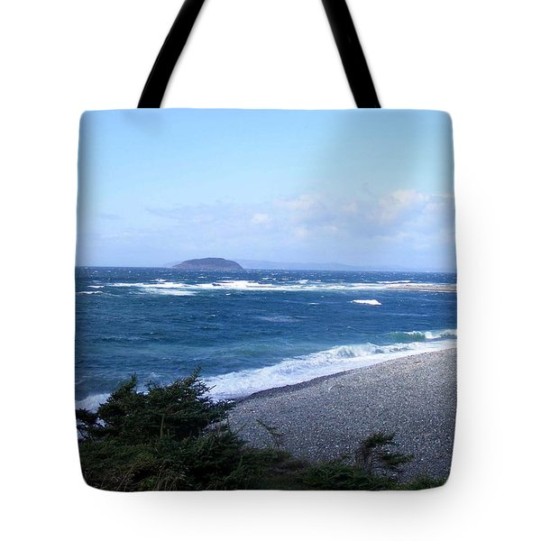 Rough Day On The Point Tote Bag by Barbara Griffin