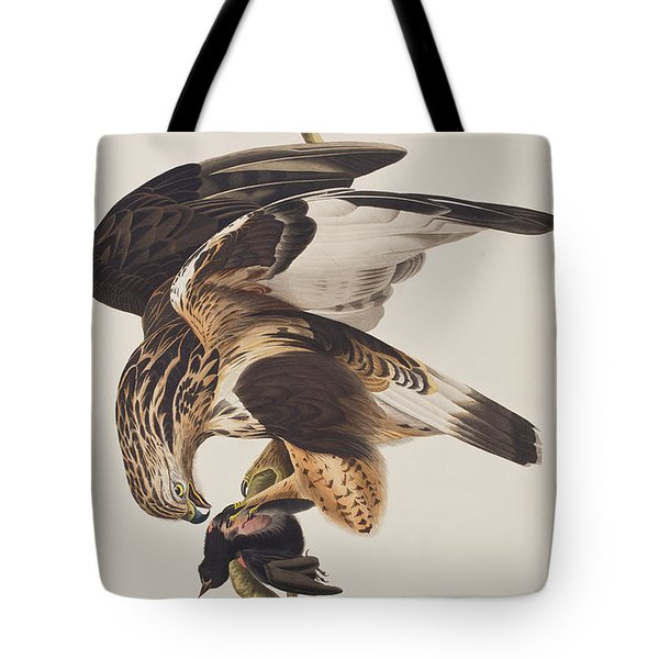 Rough Legged Falcon Tote Bag by John James Audubon