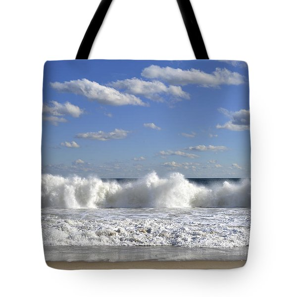 Rough Surf Jersey Shore  Tote Bag