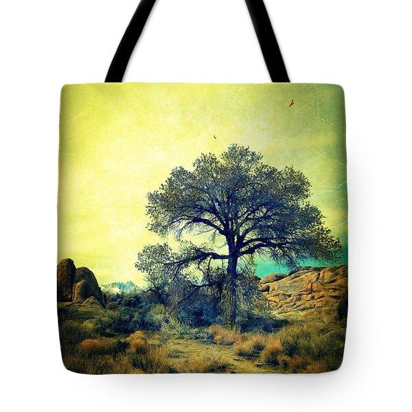 Rough Terrain Tote Bag