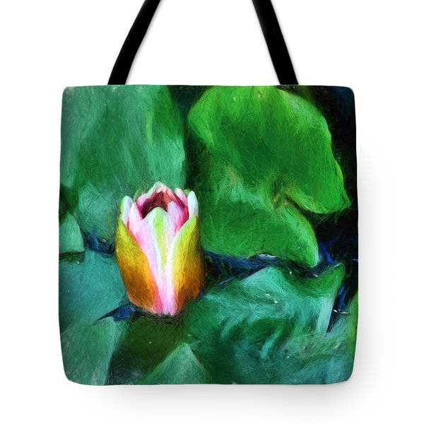 Rough Water Tote Bag