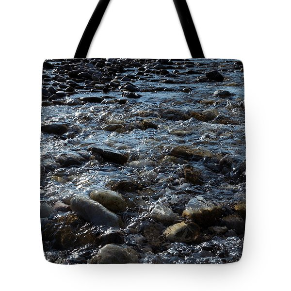 Tote Bag featuring the photograph Rough Waters by Helga Novelli