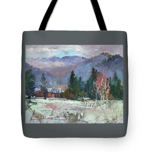 Rough Winter  Tote Bag