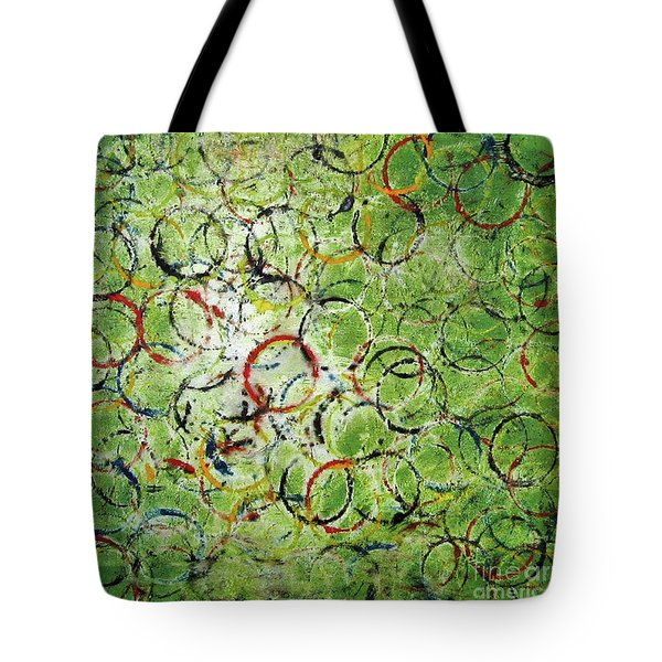 Round About 2 Tote Bag