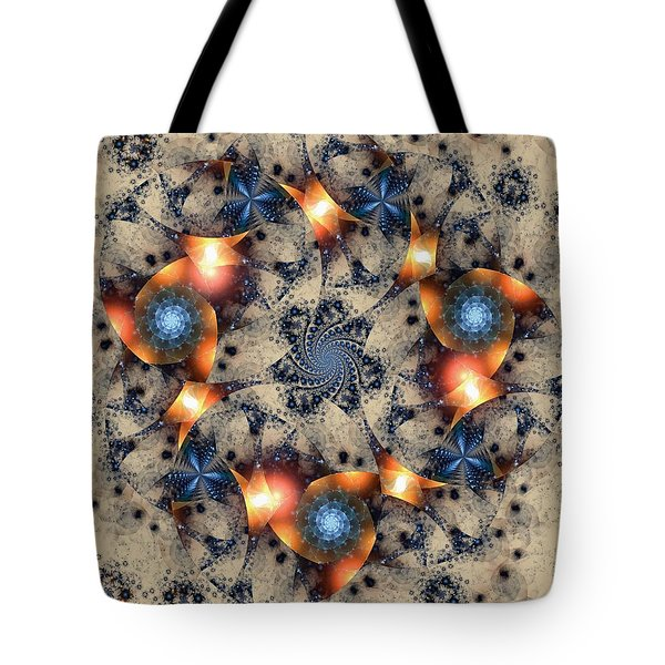 Round About Tote Bag by Kim Redd