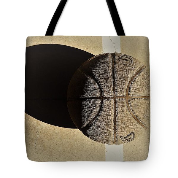 Round Ball And Shadow Tote Bag