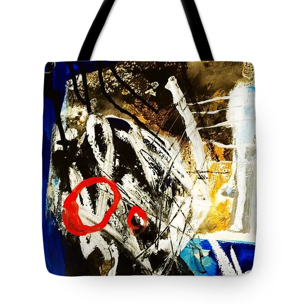 Tote Bag featuring the painting Round II by Helen Syron