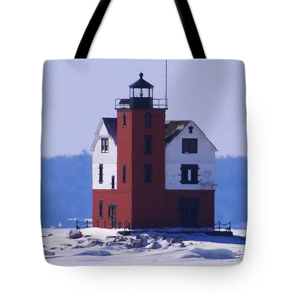 Round Island 3 Tote Bag