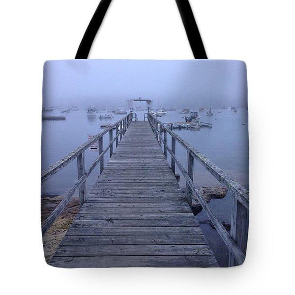 Tote Bag featuring the photograph Round Pond by Olivier Calas