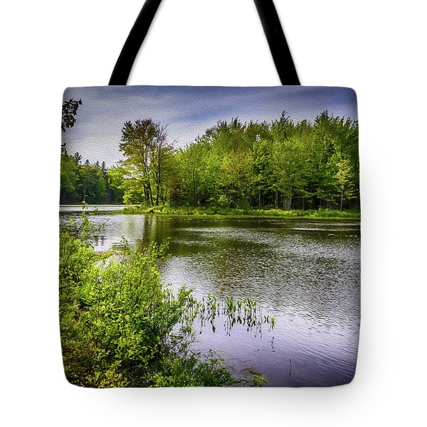 Tote Bag featuring the photograph Round The Bend In Oil 36 by Mark Myhaver