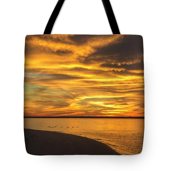 Round The End Tote Bag