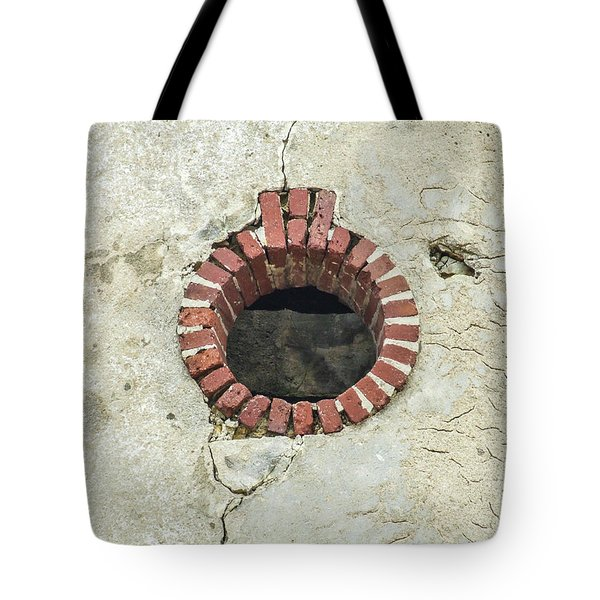 Round Window Tote Bag by Helen Northcott