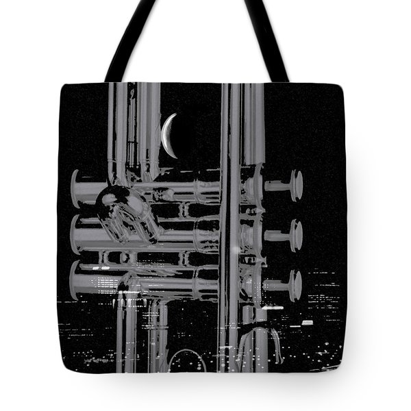 Round'bout Midnight Tote Bag