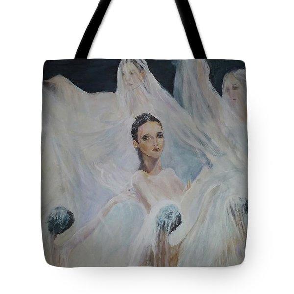 Roundelay. Ballet Dancers Tote Bag