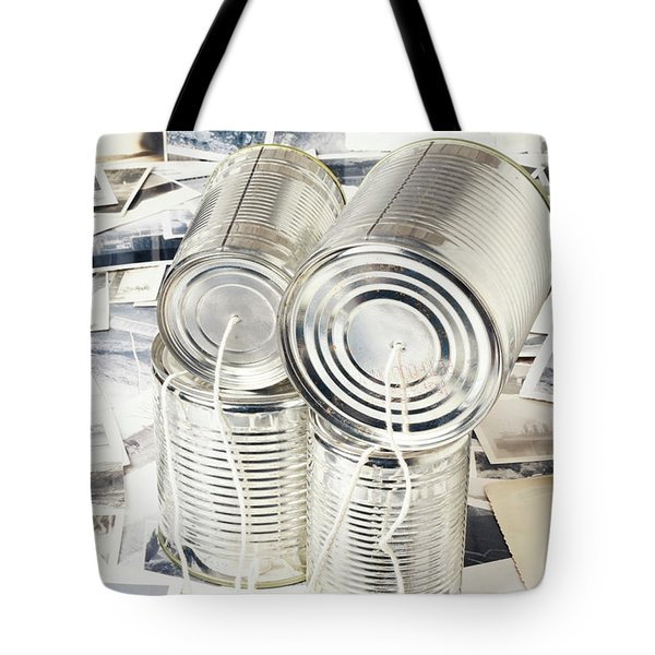 Rounding Out Vintage Discourse Tote Bag